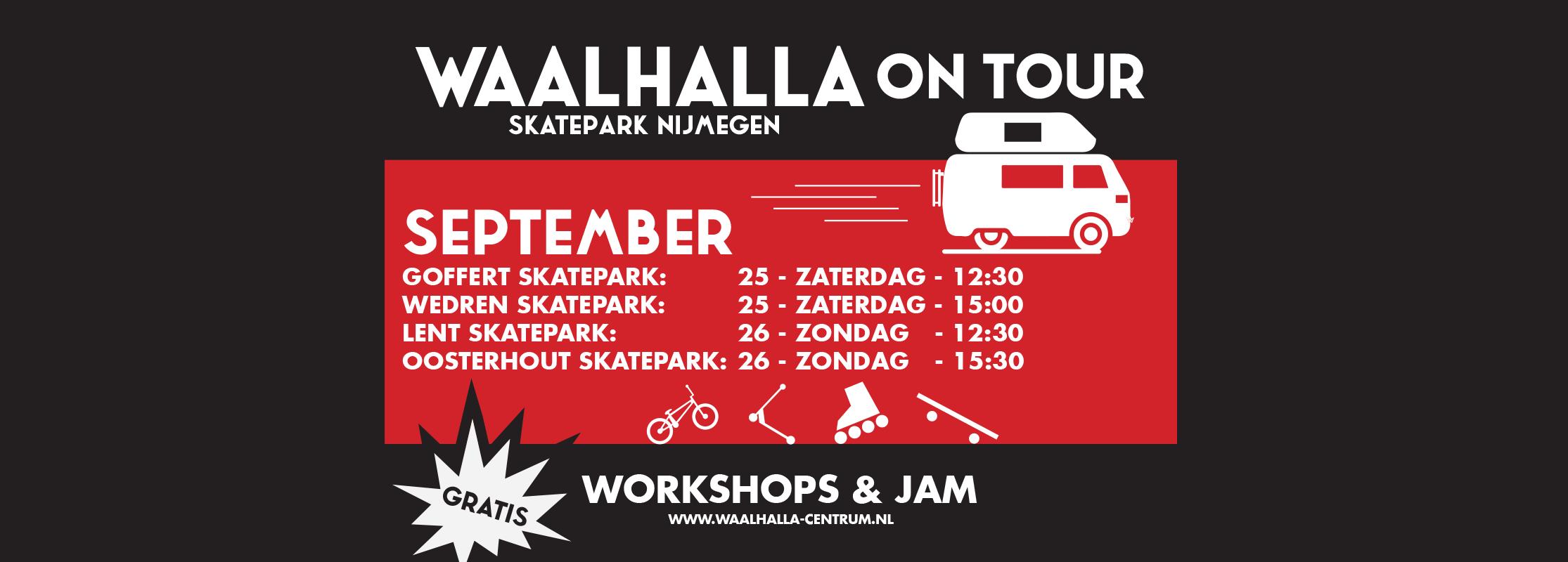 Waalhalla on tour