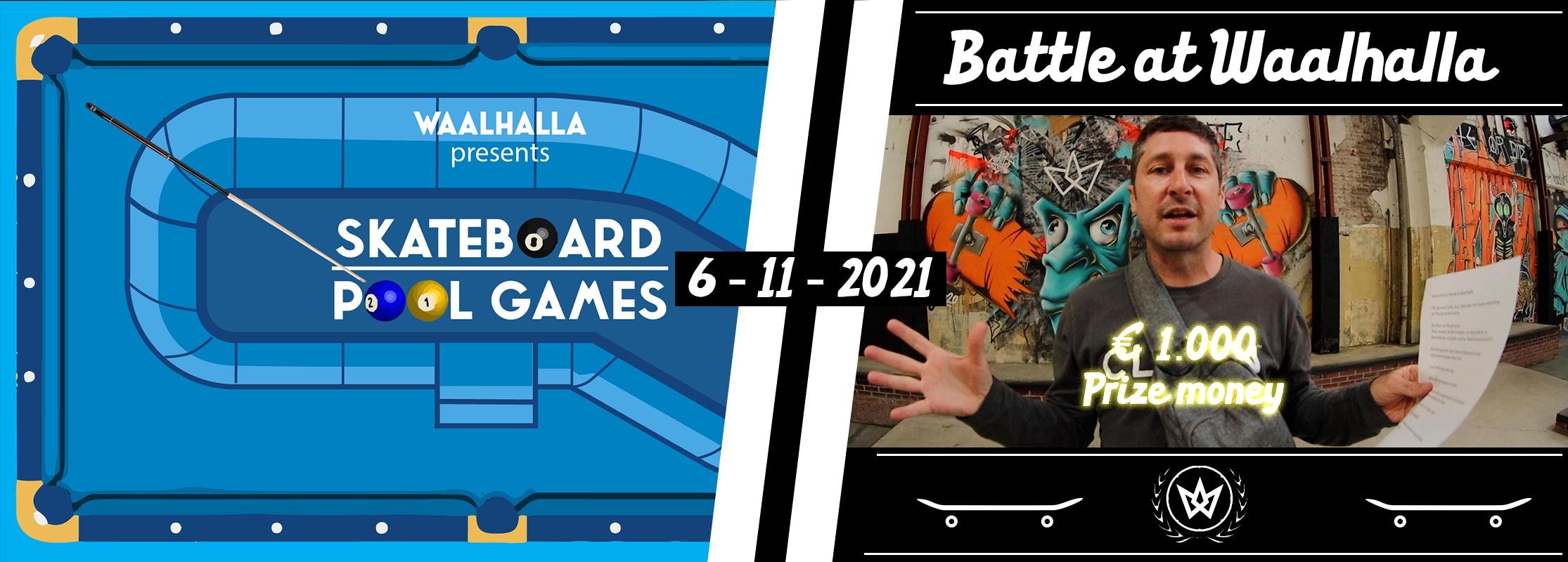 Pool games // Battle at Waalhalla
